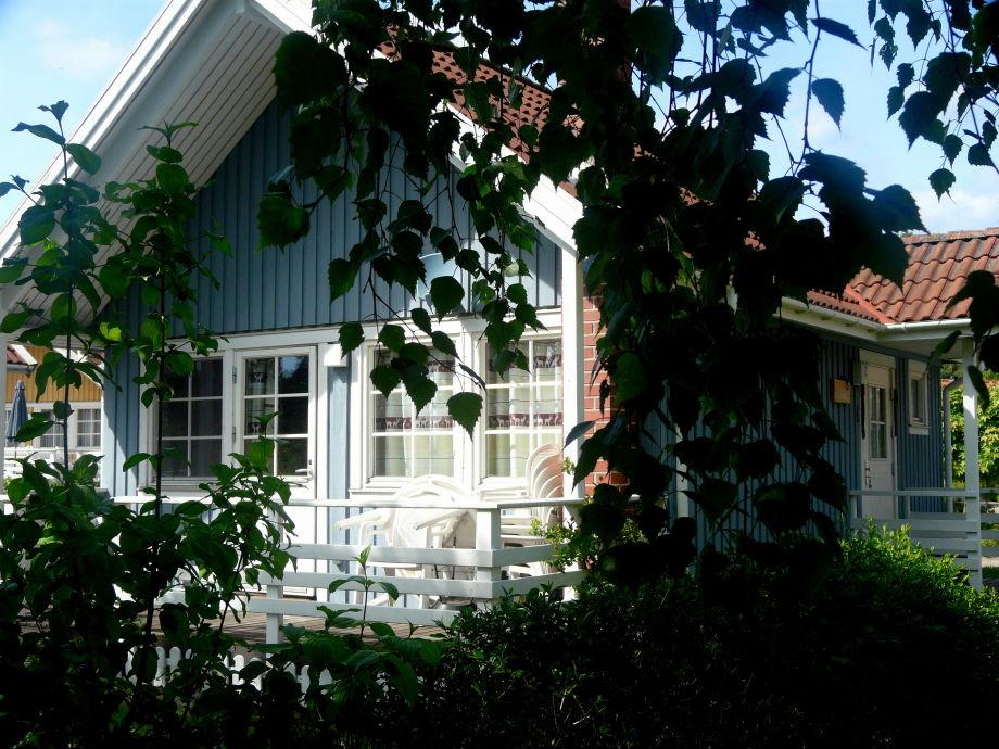 Haus Moorfrosch blickt direkt auf den See