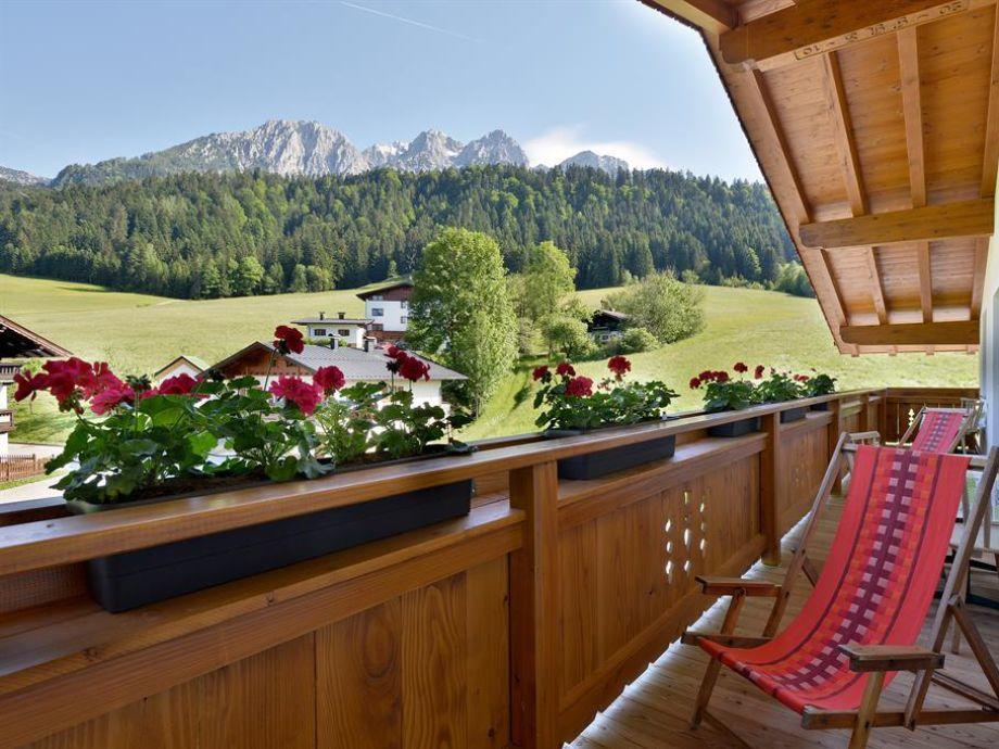 Ferienwohnung Heuberg Balkon