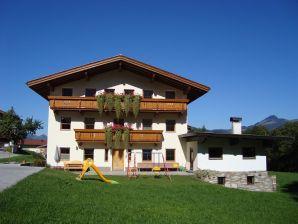 Ferienwohnung Heuberg auf dem Bauernhof Kleinwolfing