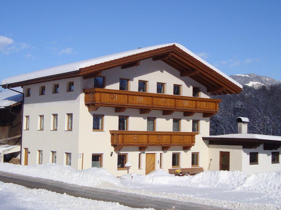 Ferienwohnung am Buchberg bei Ebbs im Winter