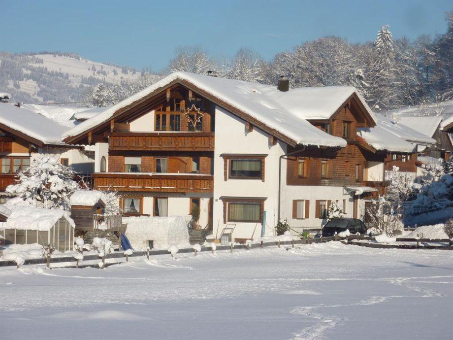 Gästehaus Koch im Winter