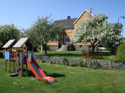 in Ferienhausanlage auf einer Insel im Oslofjord