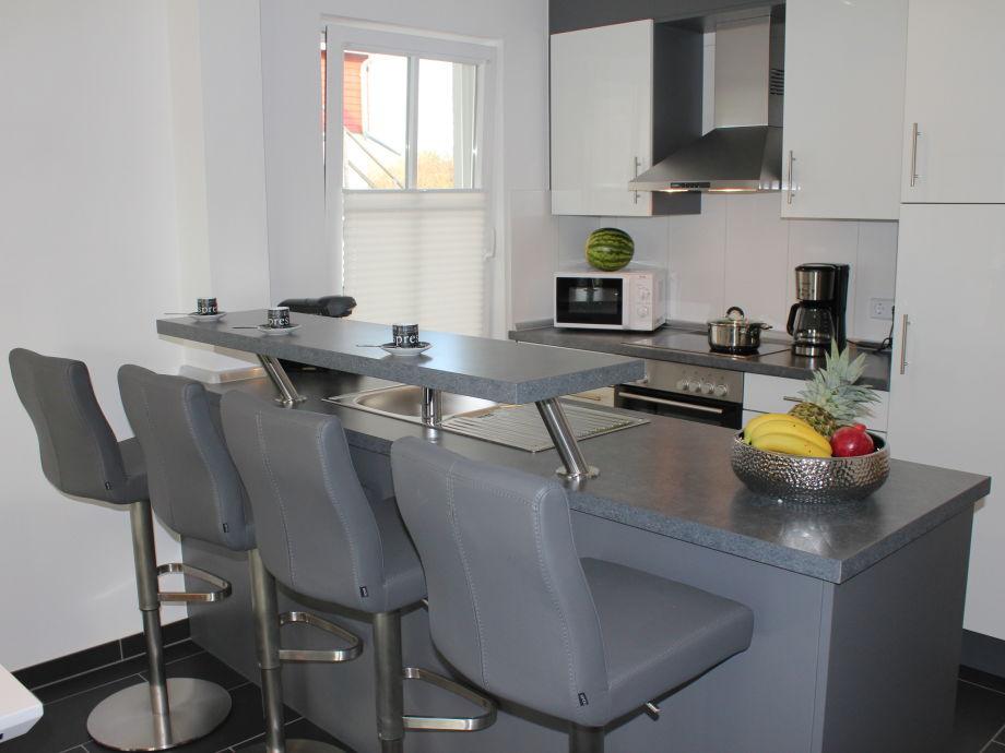 In der gut ausgestatteten Küche können Sie...