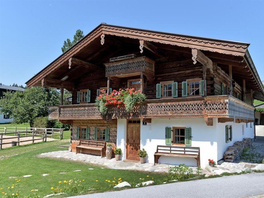 Ferienhaus Kramerl Bad Häring im Sommer