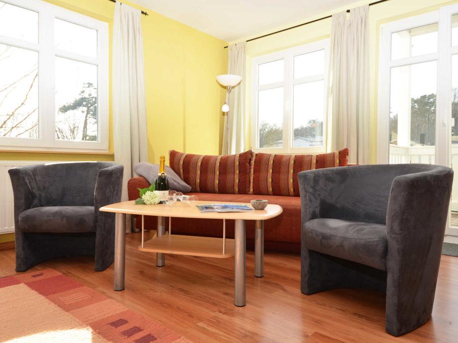 Ausstattung in der Villa Seerose F700 WG 4 im 1. OG