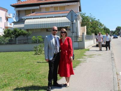 Ihr Gastgeber Denis Šepat