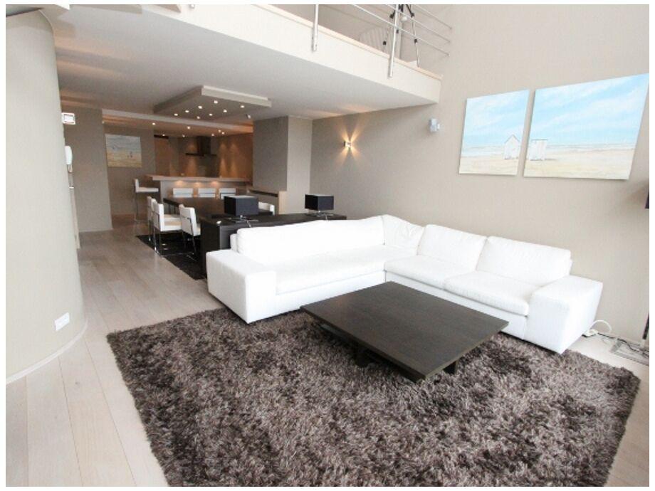 Das helle Wohnzimmer