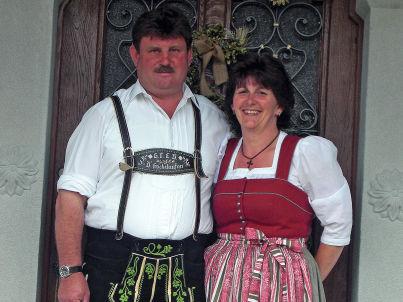 Ihr Gastgeber Franz & Traudi Seehuber