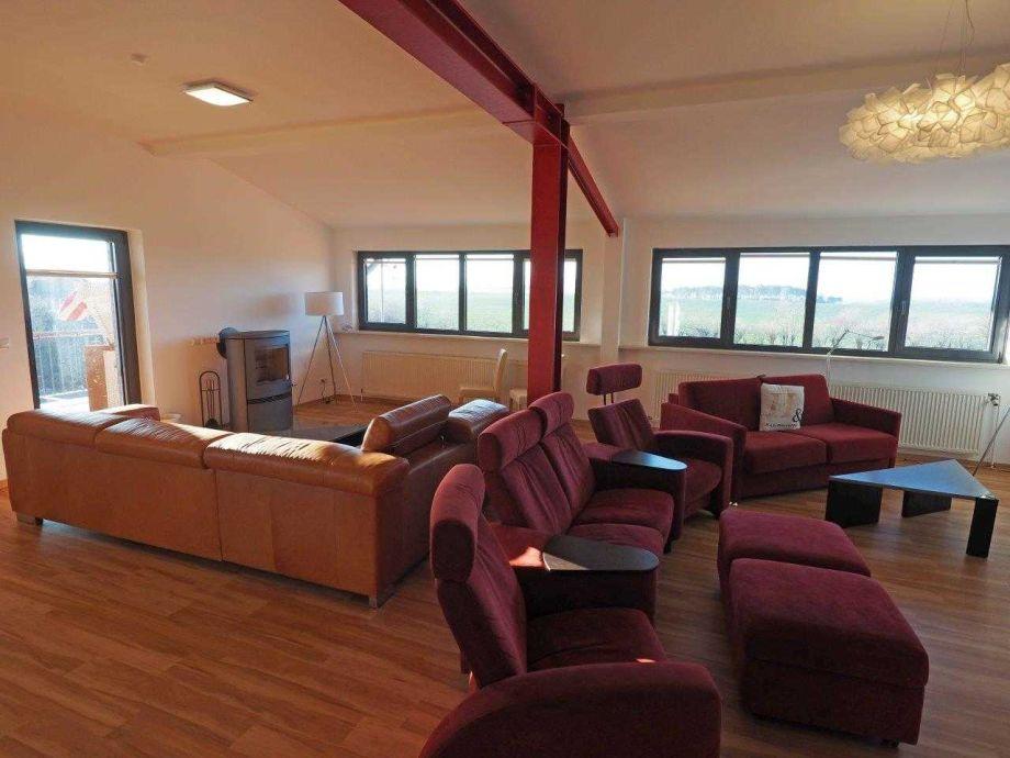 60 qm Wohnzimmer - Platz genug :)