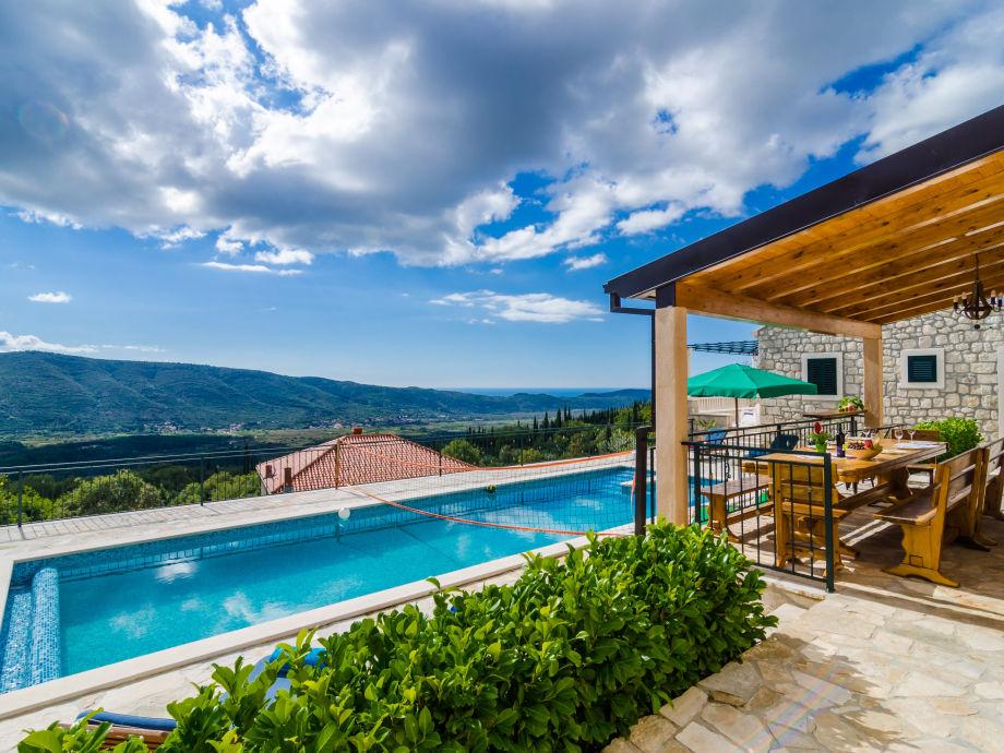 Terrasse mit Swimming Pool