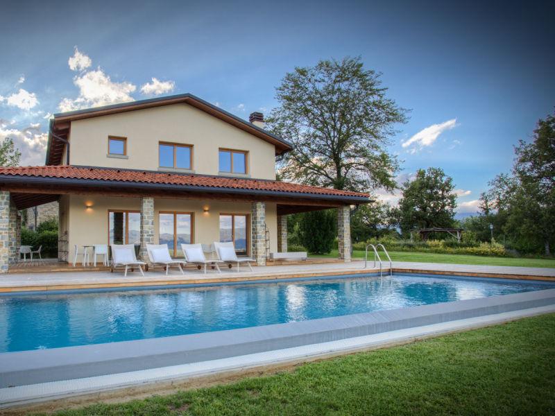 Ferienhaus Villa Chimera mit Pool in der Toskana