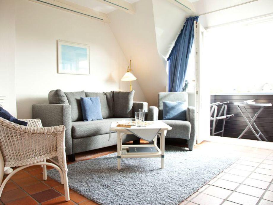 moderne Sitzecke im Appartement 3c