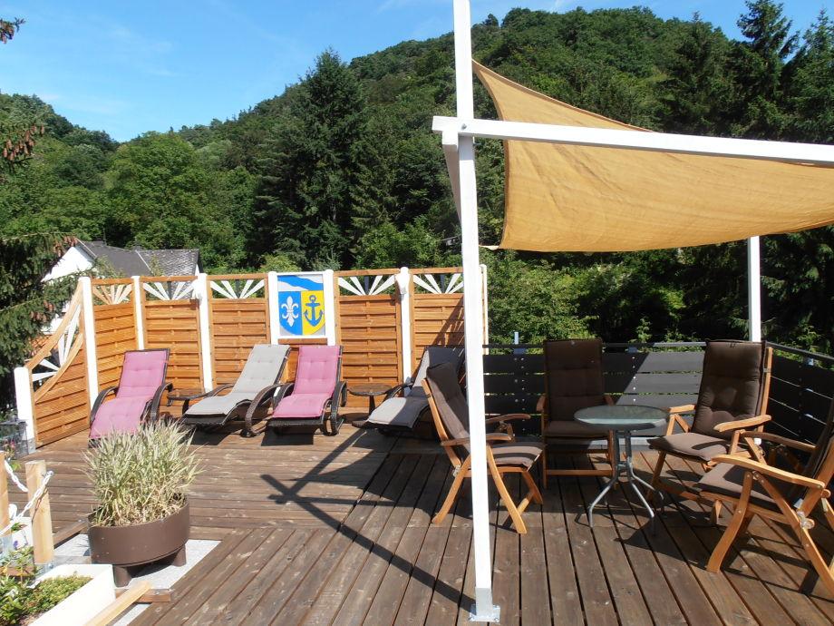 Rosen-Dachterrasse (optional für alle Gäste)