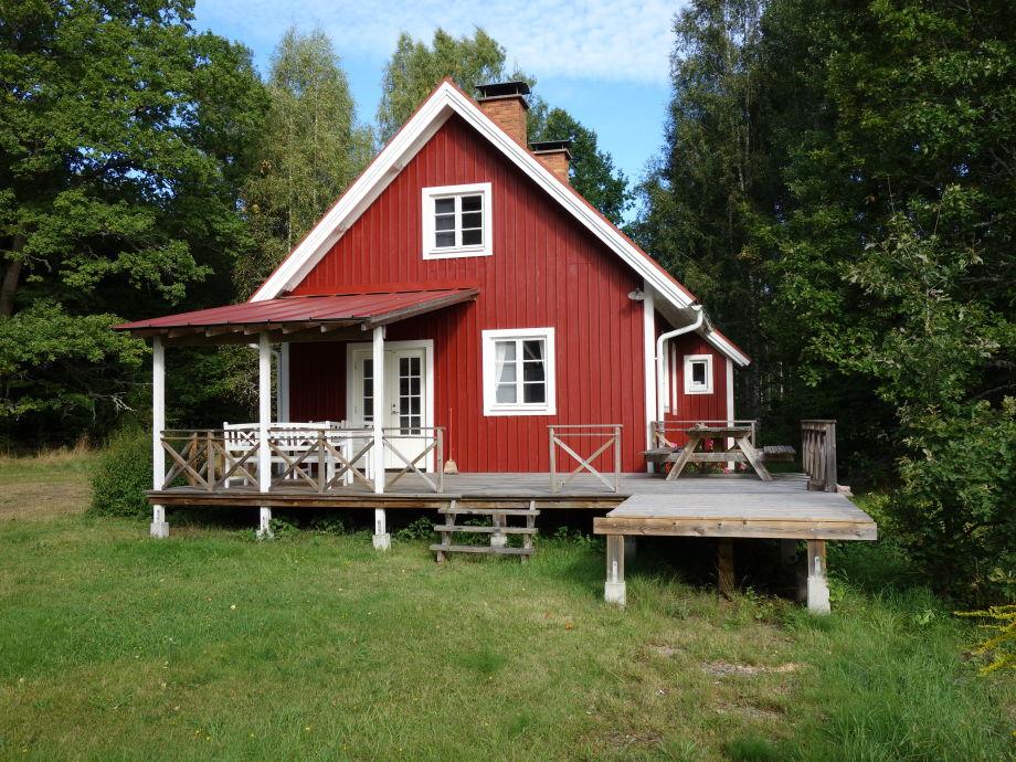 Einladendes Schwedenhaus