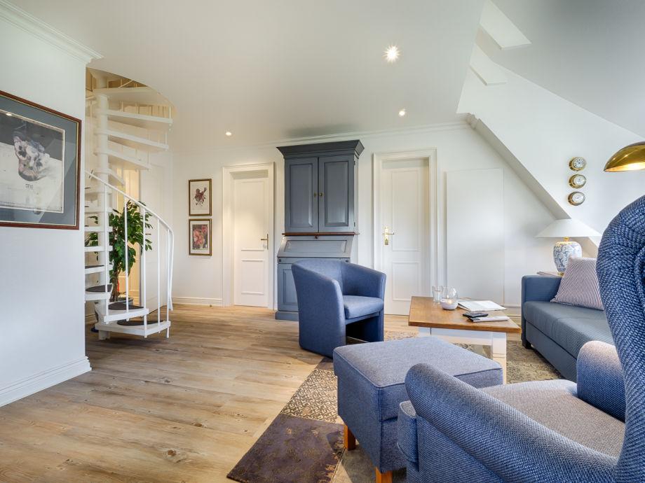 Ferienwohnung kuschelige suite sylt ambiente unter reet for Wohnen ambiente