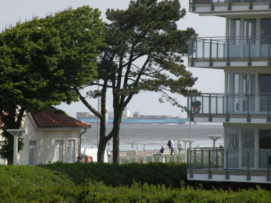 Strand Palais direkte Seesicht