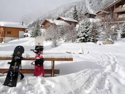 am Skigebiet Winterberg