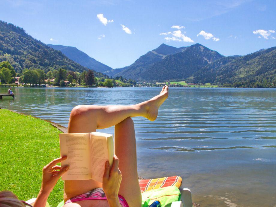 Den Sommere genießen in den Bergen und am See