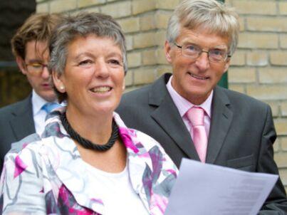 Ihr Gastgeber Feije und Anneke Sijbrandij