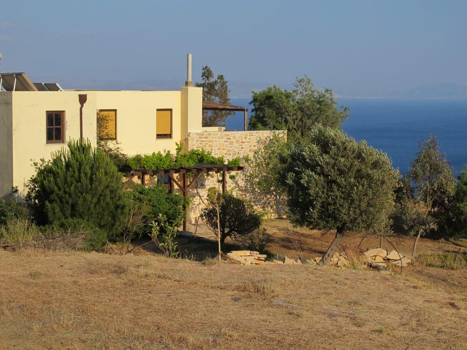 Außenaufnahme in Villa Nerida