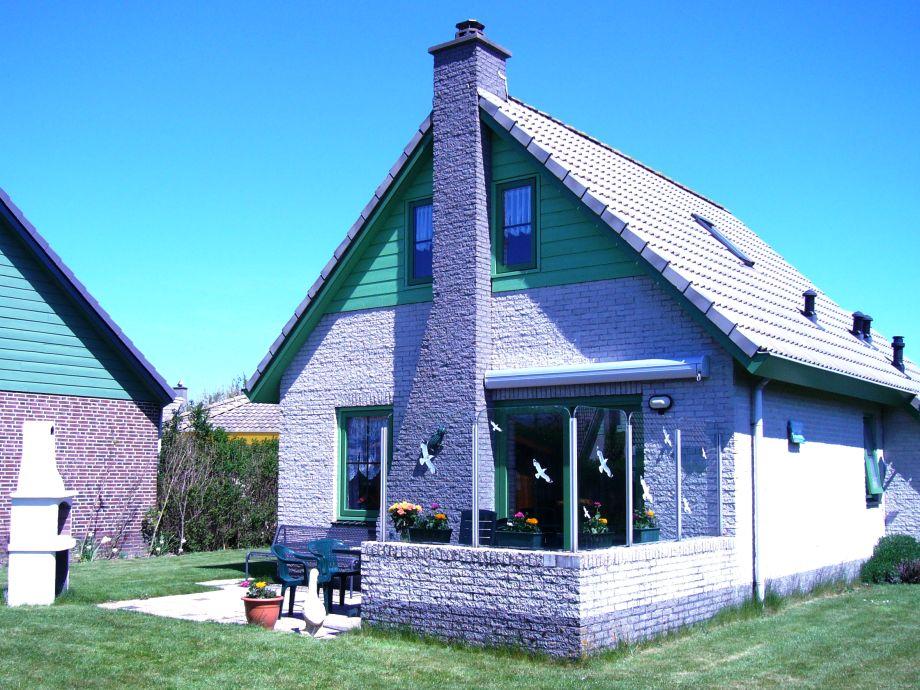 Terrasse, Windschutz, Kamin
