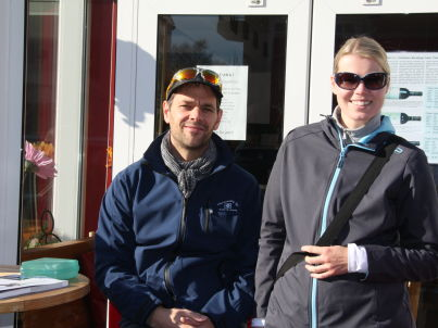 Your host Tanja und Hauke Brauer