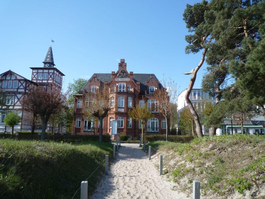 Direkt am Strand - Villa Glücksplilz.