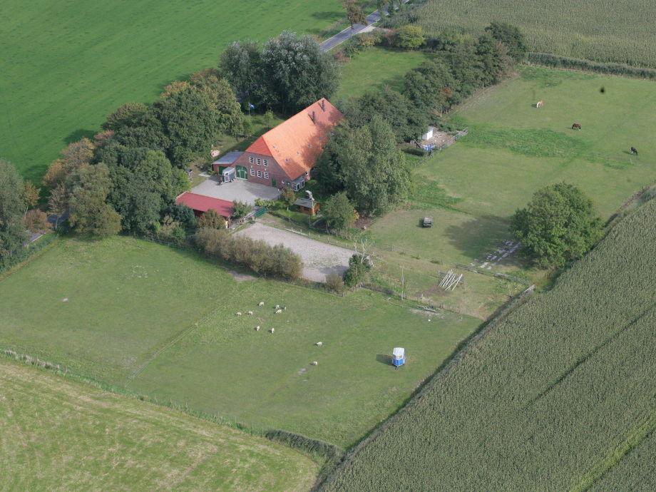 Luftbild Hof wattenmeer-ferien