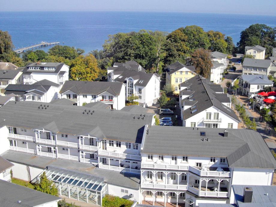 Blick auf die Residenzen