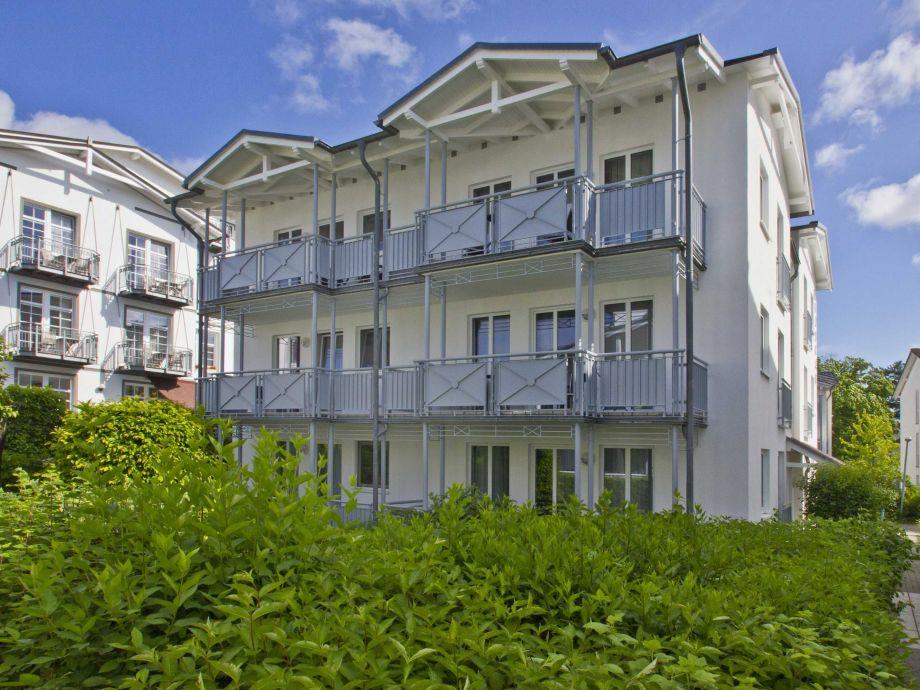 Außenaufnahme in der Villa Buskam (WE23, Typ A)