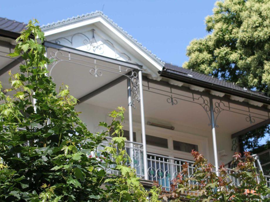 Außenaufnahme in der Villa Stranddistel (WE1.1, Typ C)