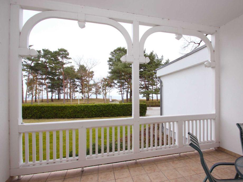 Außenaufnahme im Aparthotel Ostsee (WE05, Typ F)