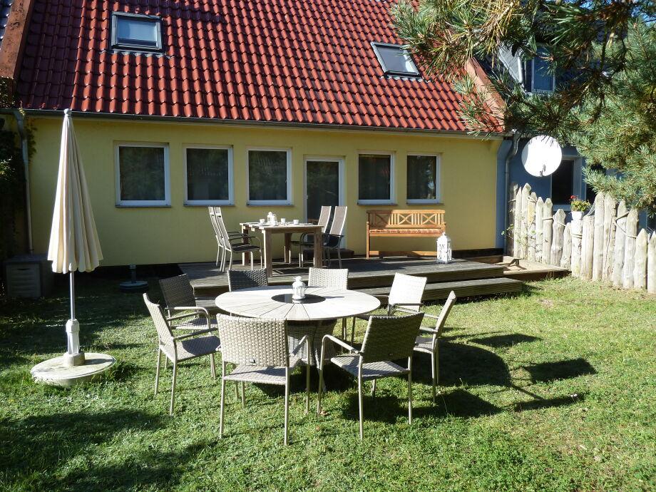 Süd-Terrasse mit Garten