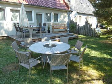 Ferienhaus Boddenblick mit Sauna