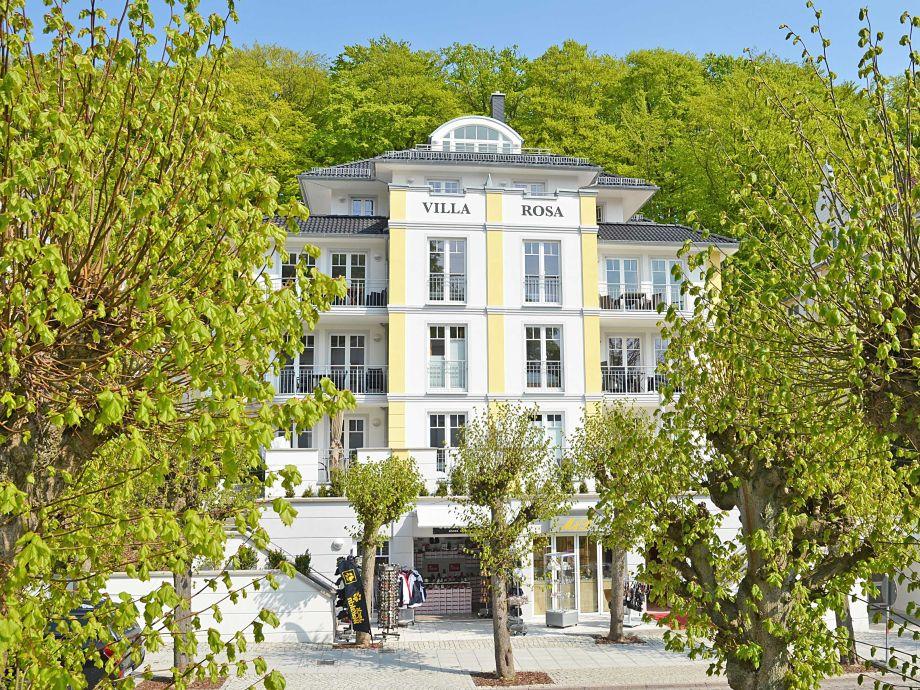 Die Villa Rosa im Ostseebad Sellin