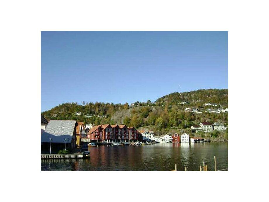 Traumhafte Lage vom Ferienhaus Fjellgaten