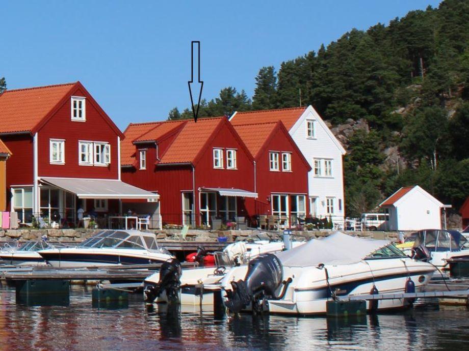 Ferienhaus Furuholmen Brygge 7 bei Lindesnes