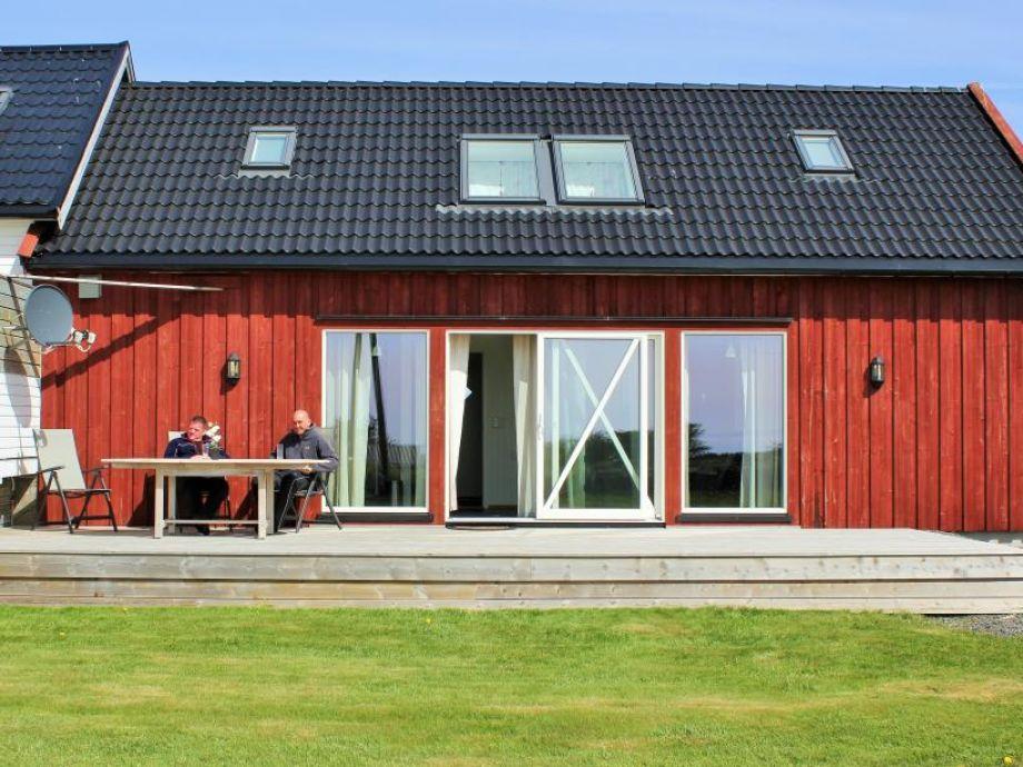 Neues und modernes Ferienhaus Vagstun 1 in Borhaug
