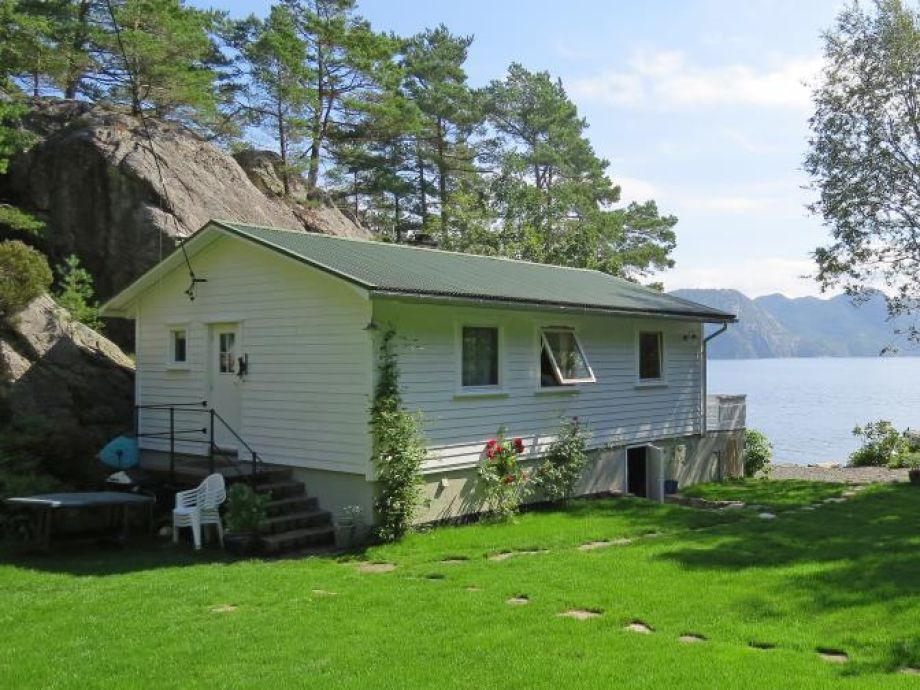 Ferienhaus Solvika Flekkefjord Abelnes