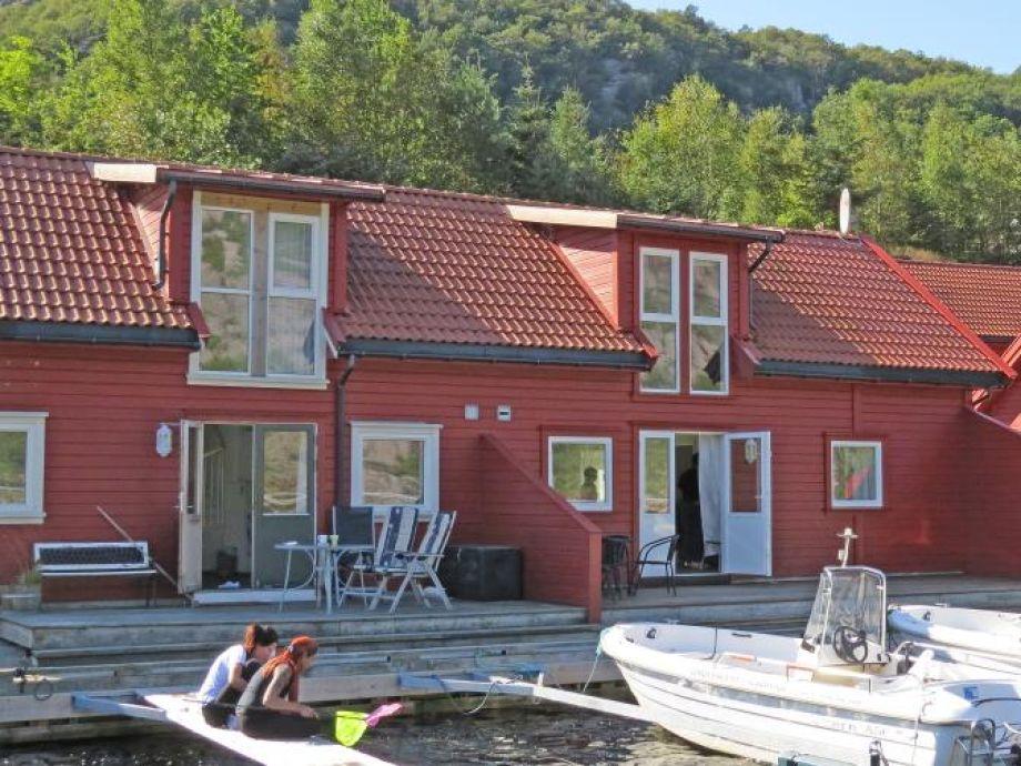 Ferienhaus Ramsland Brygge 8 a bei Lindesnes