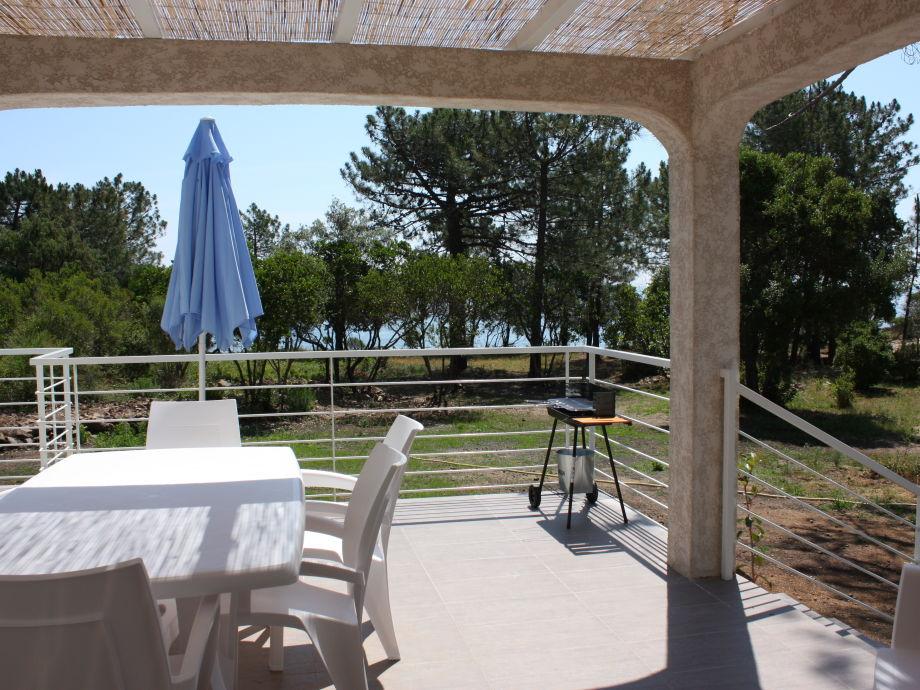 Freistehende Villa mit Meeresblick