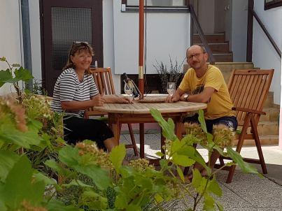 Ihr Gastgeber Cornelia und Günther Sasse