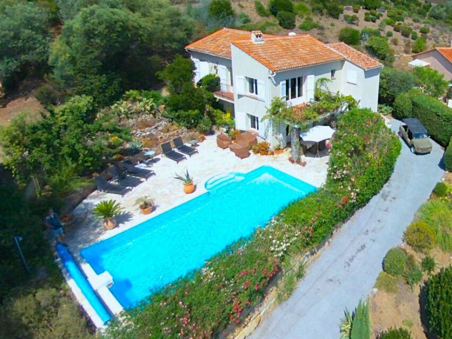 Villa Raima with heated pool