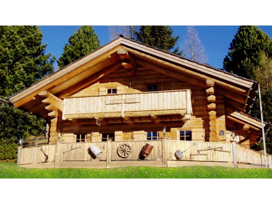 Ferienhaus Baar - das Almhaus am Falkert für Sie
