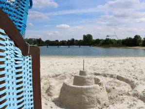 Ferienhaus Ferienhuus Strandkörv mit privat Strand