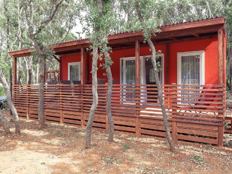 Ferienhaus Mobilheim Mon Perin, Typ Deluxe