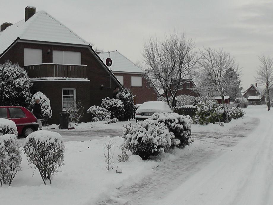 Seezungenweg im Schnee