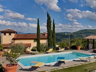 Ferienhaus Villa Casina in der Toskana mit Pool