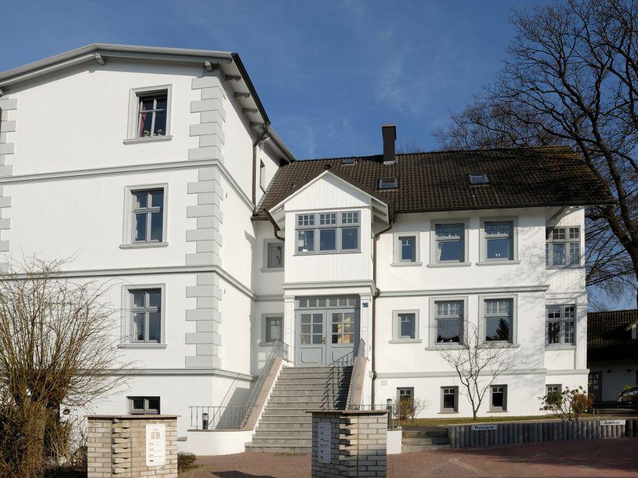 Villa Seeadler Parkplatz hinterm Haus