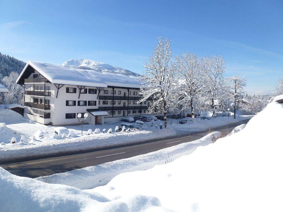 Ferienwohnung Alpenliebe in Reit im Winkl im Winter